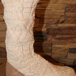 eada742d20c UGG KALLA TALL SWEATER BOOTS Boutique